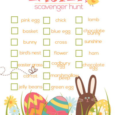 scavenger hunt ideas | spring activities for kids | kids activities | scavenger hunts for kids | free printable