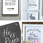Free Easter Printables | Easter Printables for your home | DIY decor on the cheap