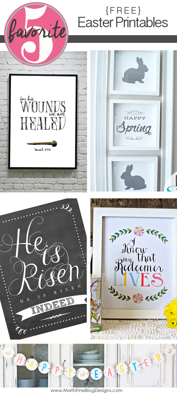 Easter Printables | Friday Favorite 5