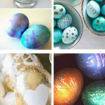 Tired of dying your eggs the same old way every single year? Try these creative East Egg Decorating Ideas!