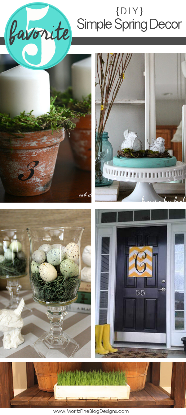 Simple DIY Spring Decor