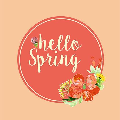 Hello Spring Printable!