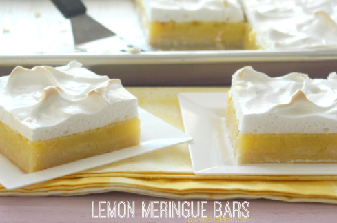 Celebrate the fresh spring air with light Yummy Lemon Desserts. From cookies to cakes you will be sure to find something you love.