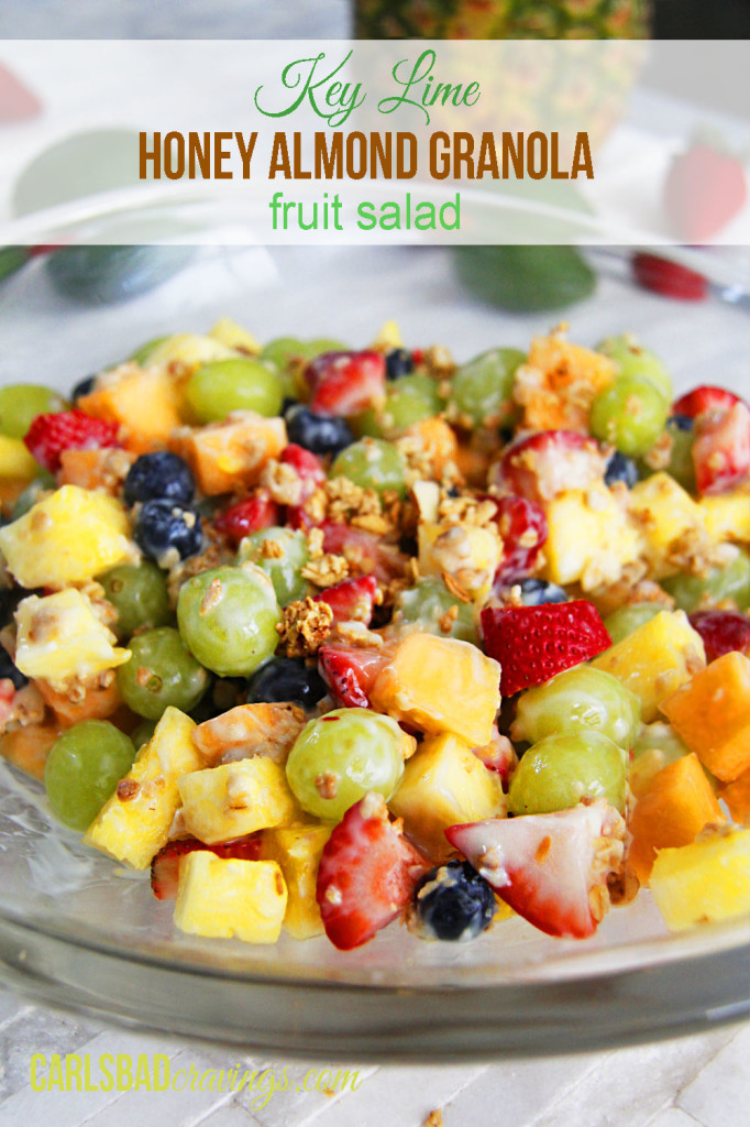 Amazing delicious fruit salads that are perfect for your spring or summer gathering around the table.