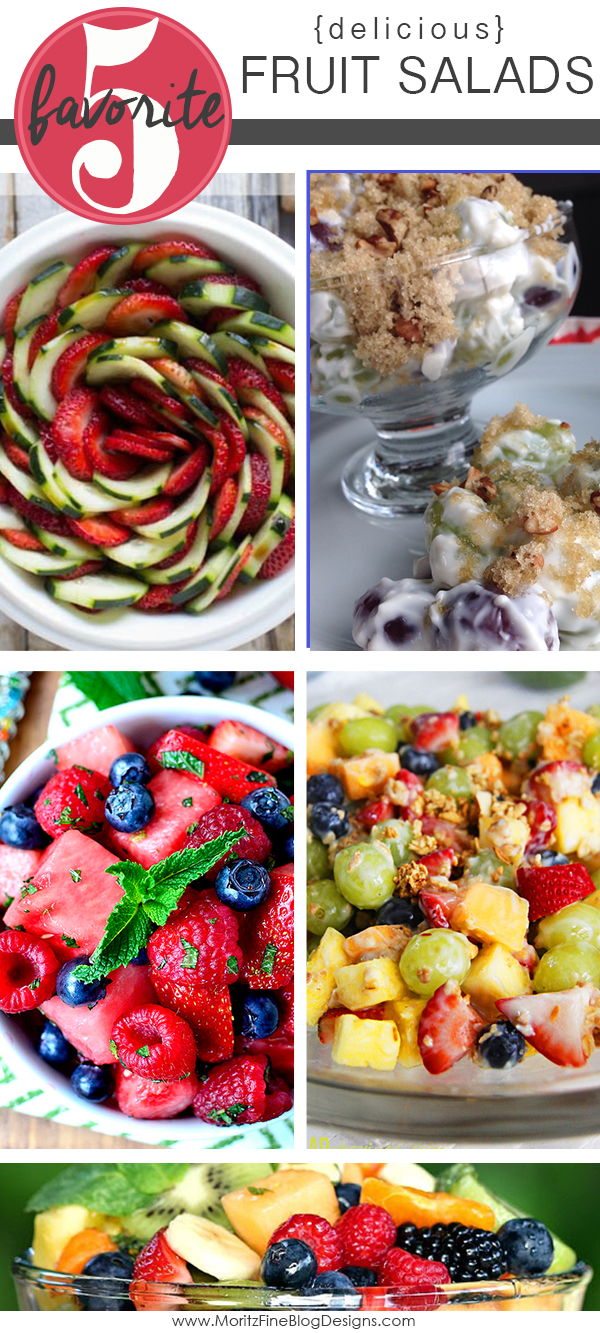 Delicious Fruit Salads | Friday Favorite 5