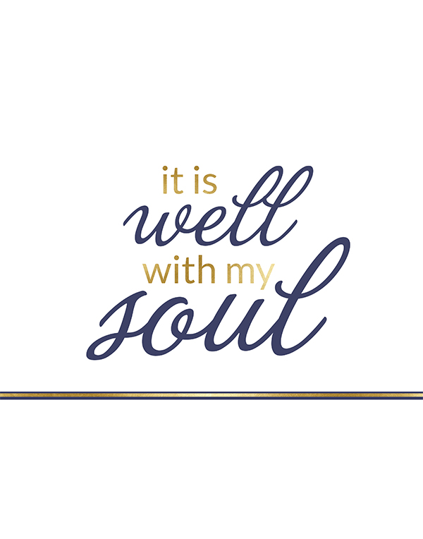 photo regarding It is Well With My Soul Printable titled It Is Perfectly With My Soul Printable Cost-free Printable Integrated