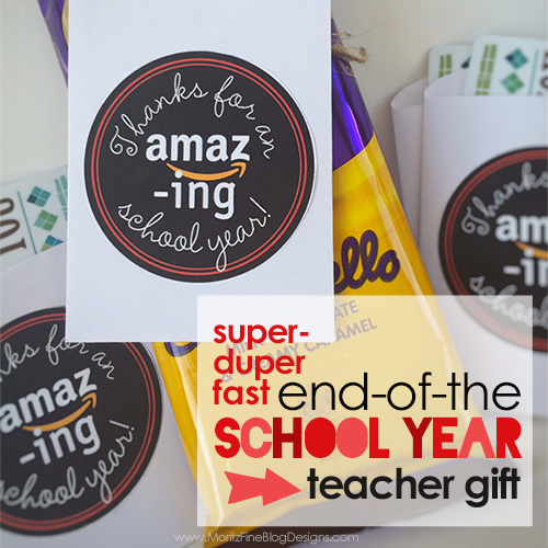 Super Fast End-of-the School Year Teacher Gift