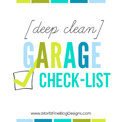 [Deep Clean] Garage Checklist