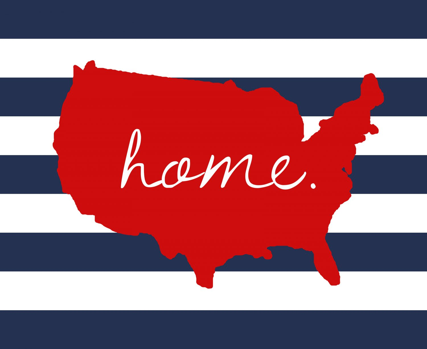 US Home 4th Of July Printable Free Included