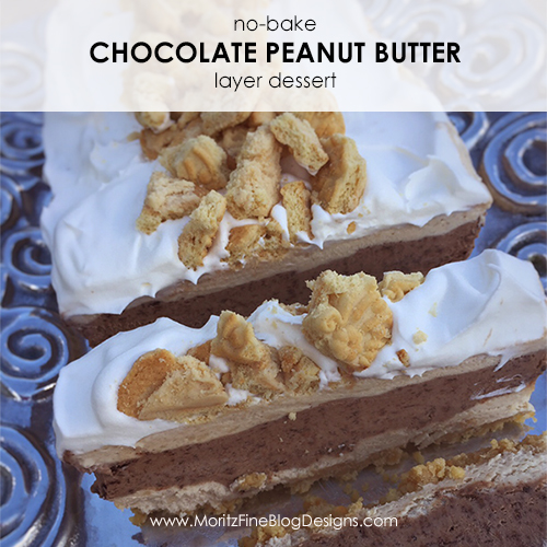 No-Bake Chocolate Peanut Butter Layer Dessert