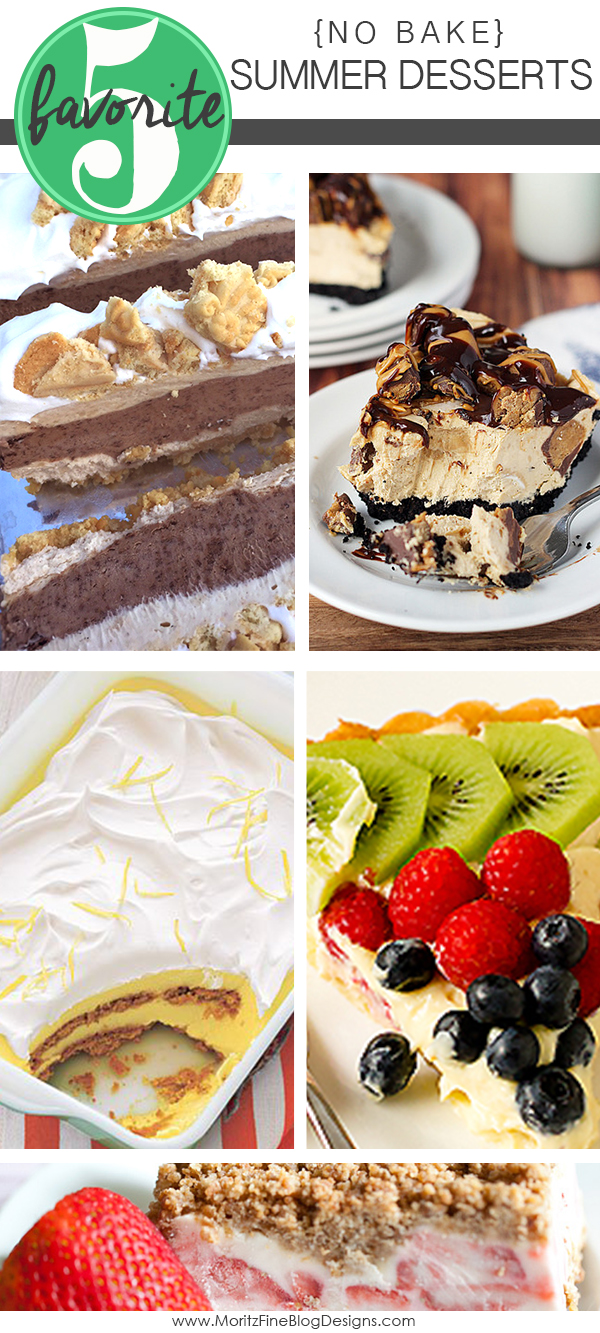 No Bake Summer Desserts