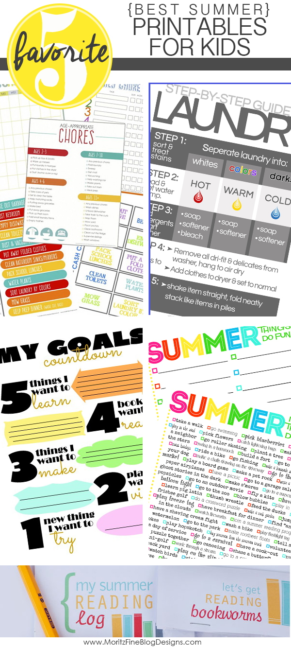 Best Summer Printables for Kids | Free Printable Included