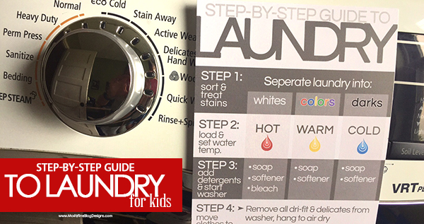 Your Step By Step Guide To The: Your Step-By-Step Guide To Doing Laundry