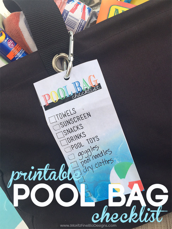 Keep your messy pool bag highly organized and always be prepared with these 5 Smart Pool Bag Hacks.