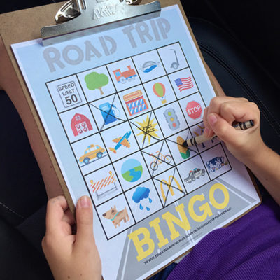road trip games for kids | road trip bingo cards | travel games for kids | travel bingo game | free printable
