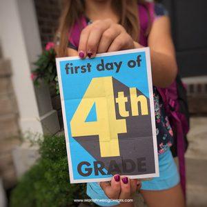 back to school | back to school photos | photo signs for kids | photos signs for back to school | back to school photo ideas