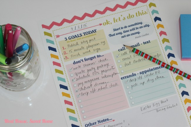 Stay on track and get more done everyday with a free printable Daily To Do List. Find the perfect Daily To Do List for you, many options to choose from!