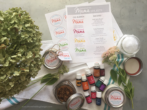 Eliminate unnecessary chemicals from your home and personal hygiene products by creating your own DIY Essential Oil Spa Kit! Free printables included!