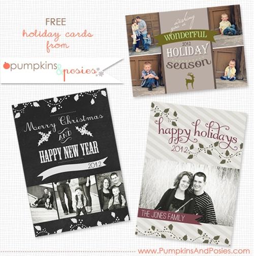 50 + Free Holiday Photo Card Templates - Moritz Fine Designs
