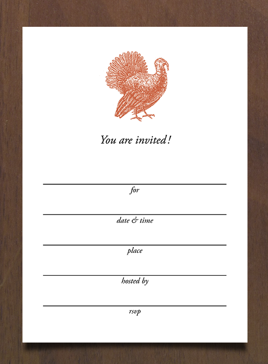 Thanksgiving Invitations that are free and easy to customize are the perfect way to invite your family, friends and neighbors to your Thanksgiving Gathering