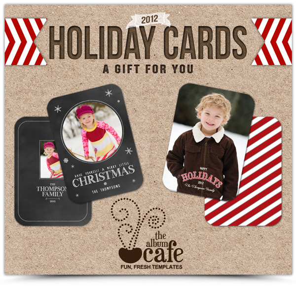 50 + Free Holiday Photo Card Templates - Moritz Fine Designs