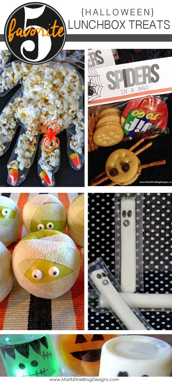 Halloween Lunchbox Treats