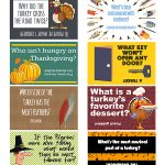Your kids will LOL with these funny Thanksgiving lunch box jokes for kids! These free printables are easy to print, cut apart and then add to your kid's lunches. #jokes #lunchboxideas