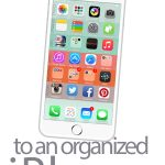 4 Easy steps to organize your iPhone in 5 minutes! Your iPhone home screen will never be the same again. Use our awesome FREE download!