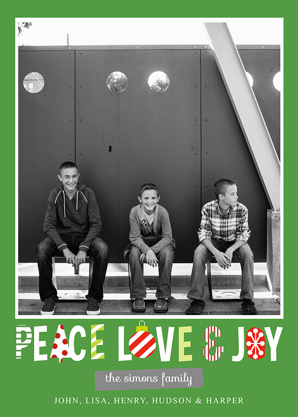 Finding the perfect Christmas Card is never easy. Finding an affordable one isn't easy either. This free customizable Christmas Card solves both problems!
