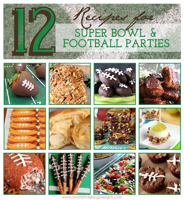 Hosting a Super Bowl party or at least attending one? You will love this list of 12 Recipes for Super Bowl & Football Parties.