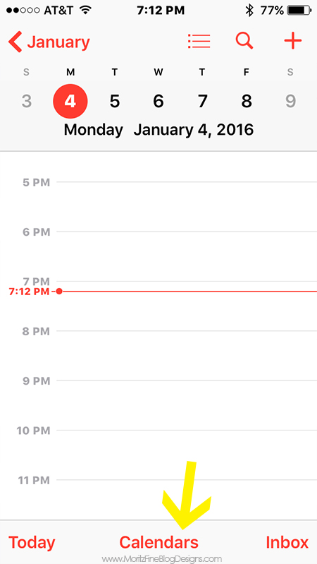 how to share calendar on iphone how to use your iphone to organize your family calendar 1696