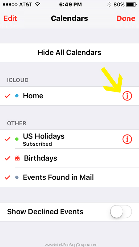 Family Calendar Sharing : How to use your iphone organize family calendar