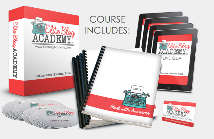 Do you desire to take you blog to the next level? Do you need a plan for Blogging Success? Elite Blog Academy will give you all you need to succeed.