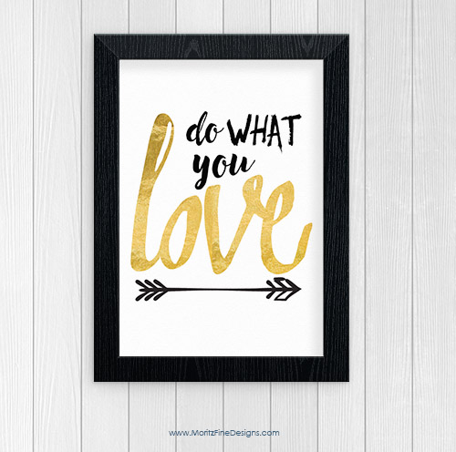 Do What You Love | Free Printable