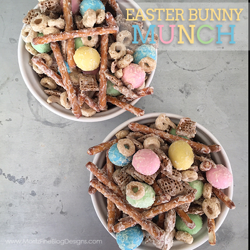 Easter Snack Mix | Bunny Munch