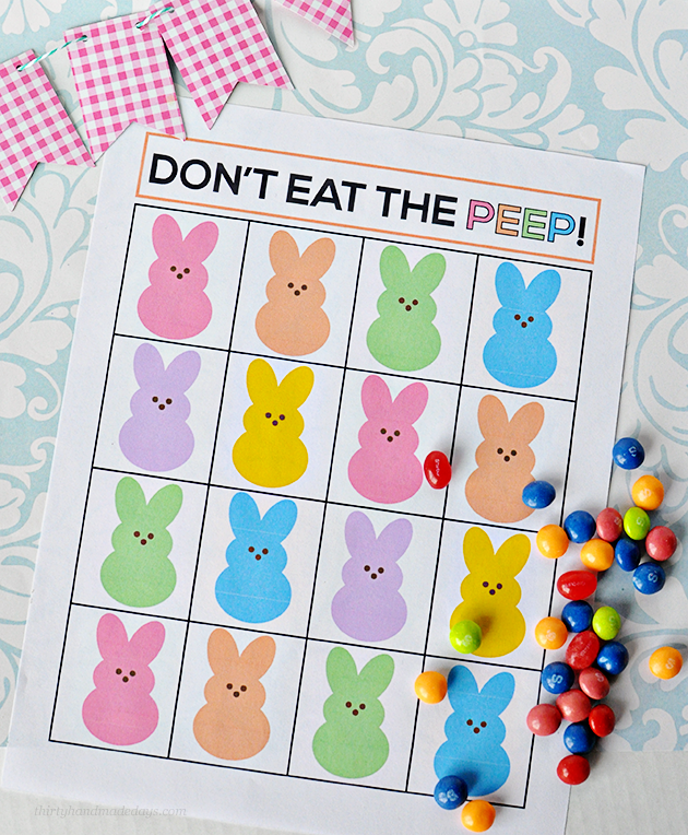 Dinner is done and the Easter Egg Hunt is over...keep the kids busy with these Free Printable Easter Activities for Kids!