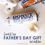 Quick & Easy Father's Day Donut Gift