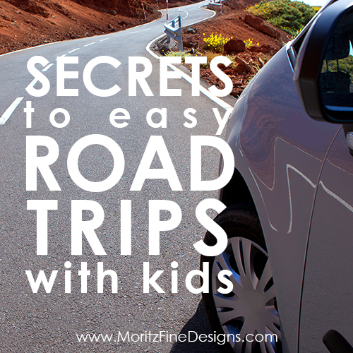 Secrets to Easy Road Trips with Kids