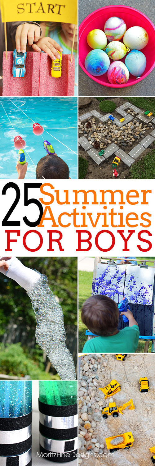 Over 25 Summertime Activities For Boy Of All Ages