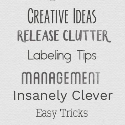 10 Fonts to use for Labels