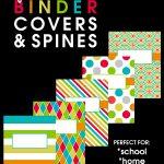 back to school   binder covers   DIY Binder covers   classroom organization   binders for teachers   free printable