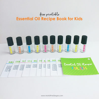 Kid's Essential Oil Recipe Book