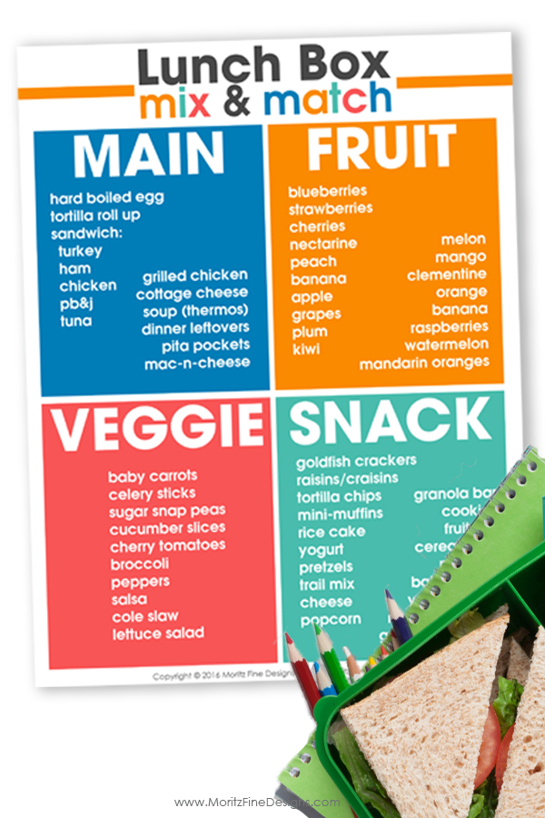 School Lunch Box Ideas   teach your kids to pack a lunch   creative school lunches   healthy lunch ideas for kids