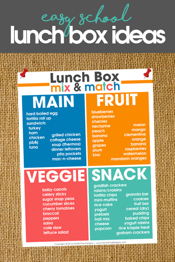School Lunch Box Ideas | teach your kids to pack a lunch | creative school lunches | healthy lunch ideas for kids