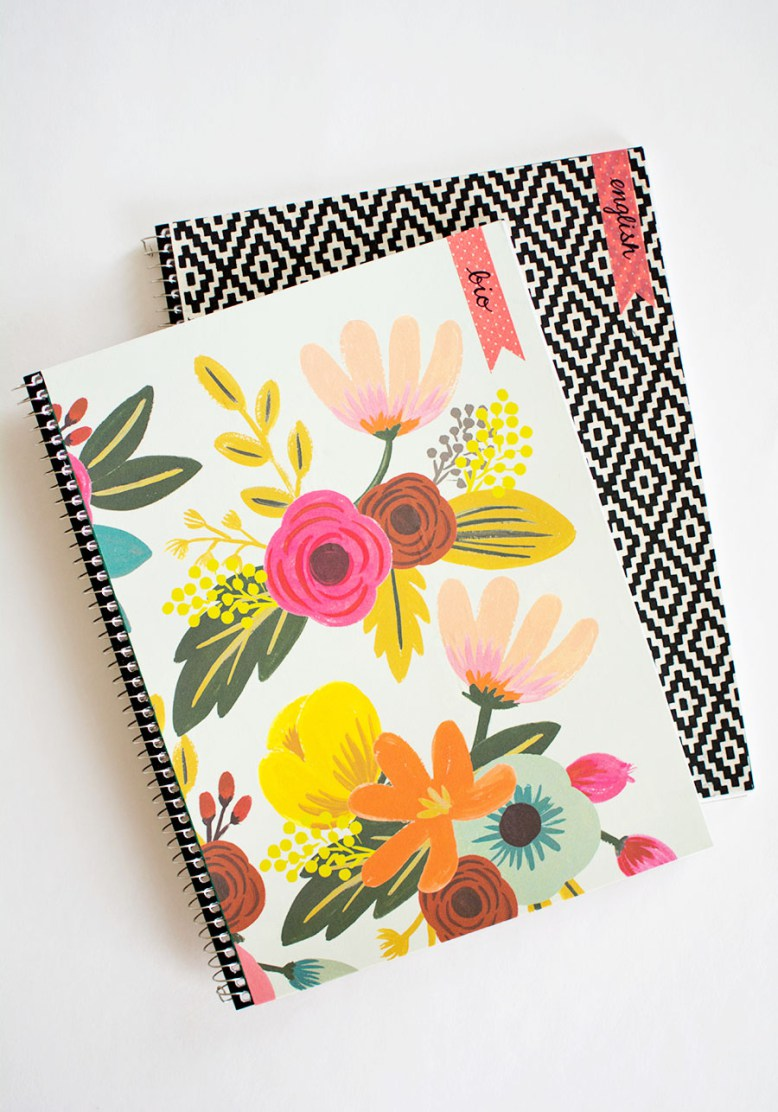 Be the cool kid in school with awesome, creative notebooks. Enjoy these 10 Ways to Decorate School Notebooks...find the one that you love and craft away!