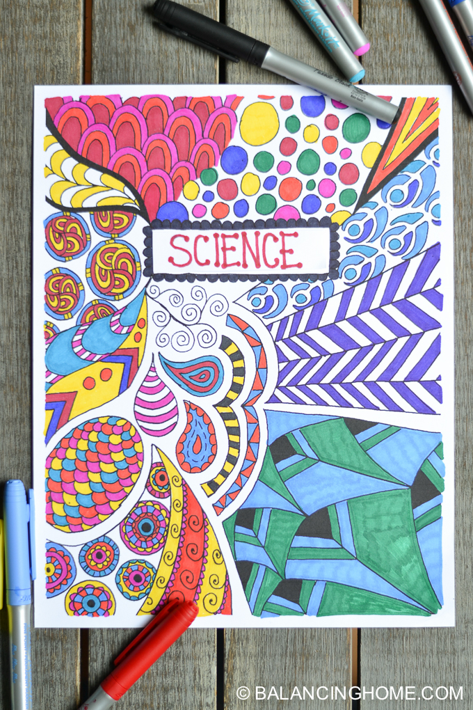 Cool Book Covers To Draw : Creative easy ways to decorate school notebooks