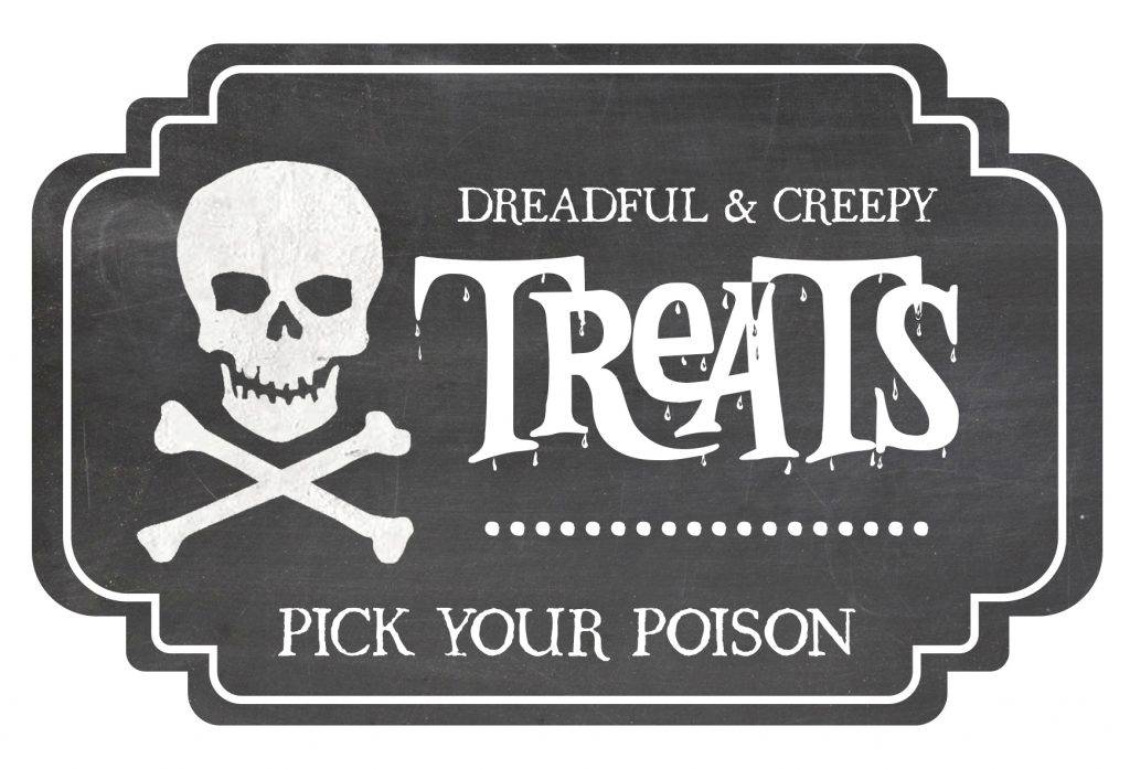Time to get your spooky and scary on! Add this frightfully cute Halloween Candy Jar Label to your candy jar. Free and easy to download and print.