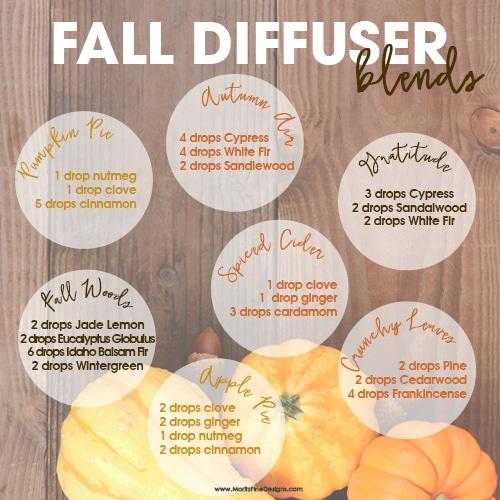 Fall Diffuser Essential Oil Blends