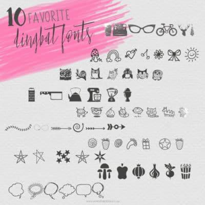 10 Favorite Dingbat Fonts