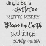 holiday fonts | Christmas fonts | free fonts | free downloadable fonts